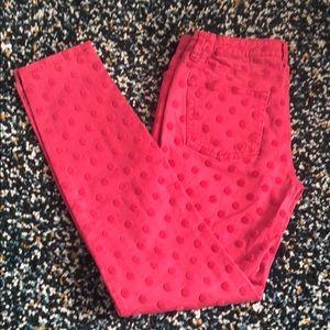 ‼️2/$30‼️ Joe fresh cute dots slim fit jeans